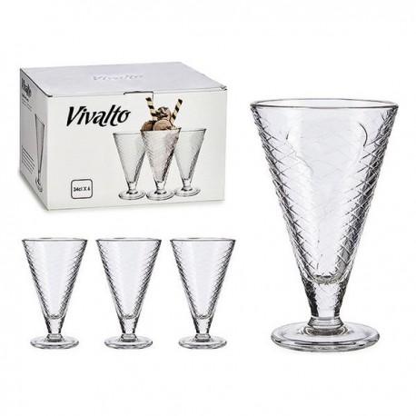 Coupe de glaces et de milkshakes 0,3 L Vivalto fonctionnelle