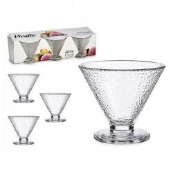 Coupe de glaces et de milkshakes Vivalto (3 pièces) fonctionnelle