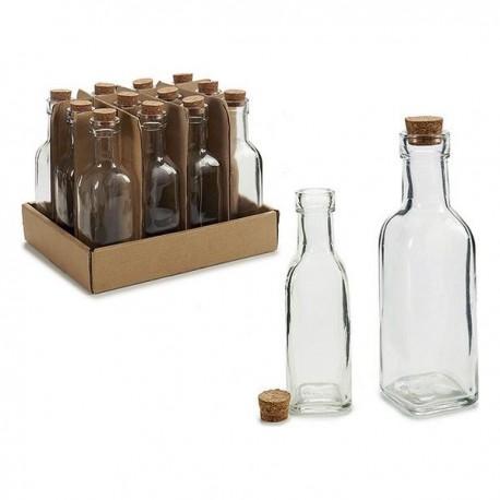 Bouteille en verre Vivalto (5 x 16,5 x 5 cm) fonctionnelle