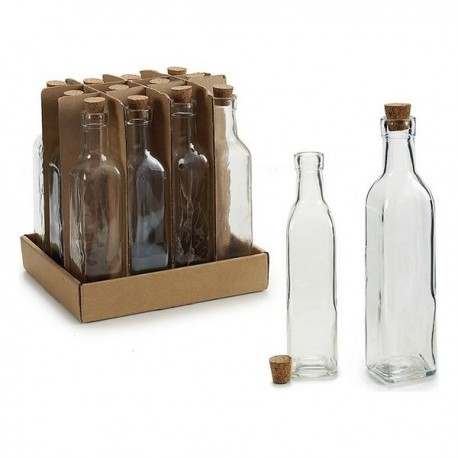 Bouteille en verre Vivalto (5 x 22 x 5 cm) fonctionnelle