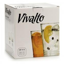 Set de Verres Vivalto (12 pièces) fonctionnel