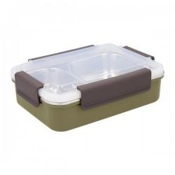 Boîte à lunch Quid GO XTREM Acier inoxydable (22,5 x 16 x 7 cm)
