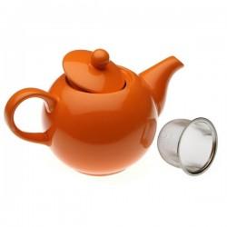 Théière Grès (14 x 11,5 x 23,2 cm) Orange fonctionnelle
