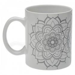 Tasse mug Mandalas Porcelaine élégante