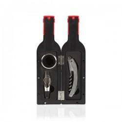 Set d'Accessoires pour Vin Plastique (3 pièces) fonctionnel