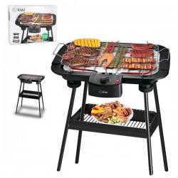 Barbecue Kiwi 2000W (38 x 22 cm) Electrique Noir fonctionnel