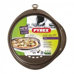Moule à pizza Pyrex Asimetria acier galvanisé (32 cm) fonctionnel