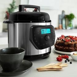 Robot culinaire Cecotec H Deluxe 6 L LCD Acier inoxydable