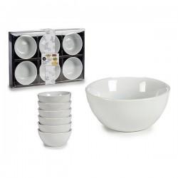 Ensemble de bols Porcelaine (6 pièces) Rond fonctionnel