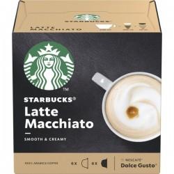 Capsules de café Starbucks Latte Macchiato (12 pièces) fonctionnelles