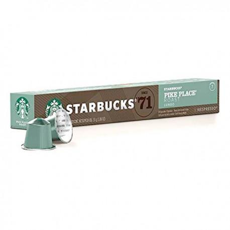Capsules de café Starbucks Pike Place (10 pièces) fonctionnelles
