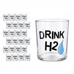Verre Drink H2 Transparent verre (380 ml)