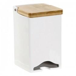 Boîte pour infusions Dekodonia Bambou Porcelaine (9 x 9 x 14 cm)