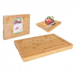 Table de Cuisine Quttin Bambou Naturel (40 x 29 x 3 cm)