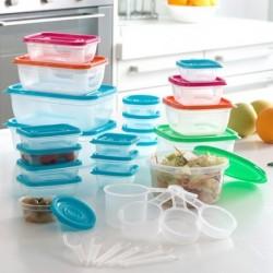Boîtes à lunch avec accessoires pratiques