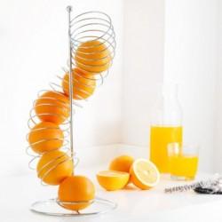 Panier à fruits spiral avec ses oranges