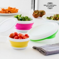 Boîtes de conservation pliables bravissima kitchen élégantes sur votre table