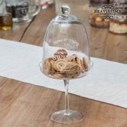 cloche en verre pour gâteaux bravissima kitchen élégant sur votre table