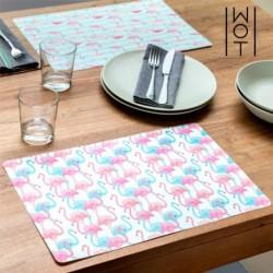set de table flamencos wagon trend élégant sur votre table