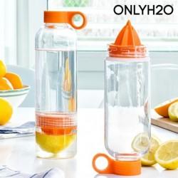 bouteille infuseur à agrumes avec presse agrumes sensations juicer nettoyage facile