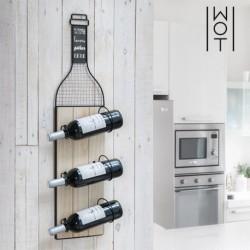 porte bouteilles mural wagon trend élégant dans votre cuisine