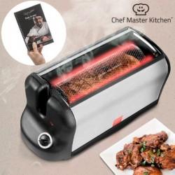 four électrique portable smart rôtisserie s avec son livre de recettes