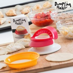 moule pour beignets et pâtes farcies fast + easy dumpling maker pour des préparations faciles