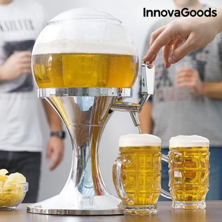 Distributeur de bière réfrigérant Ball InnovaGoods 3.5l élégant et innovant