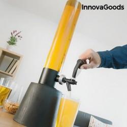 Distributeur de bière Tower InnovaGoods 3.5l pratique, élégant et innovant