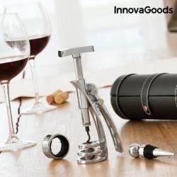 ensemble d'accessoires a vin avec tire bouchon screwpull innovagoods élégant