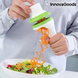 Coupe légumes en spirale 3 en 1 innovagoods pour donner un peur d'imagination à vos plats