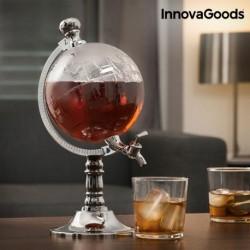 distributeur de boissons globe innovagoods élégant sur une table