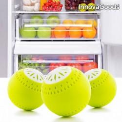 Éco-Boules pour Réfrigérateur InnovaGoods (pack de 3) innovant