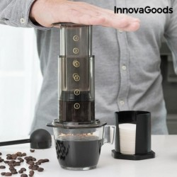 Cafetière à pression manuelle Innovagoods pratique et innovante