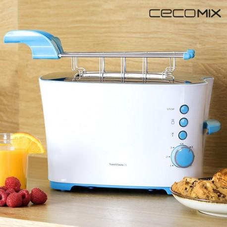 Grille-Pain Cecomix Taste 2S 3027 850W élégant