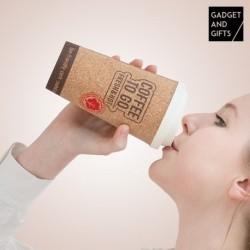 verre thermique en liège coffee gadget and gifts pratique pour toutes vos boissons