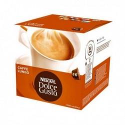 capsules de café avec étui nescafé dolce gusto 98423 lungo 16 pièces