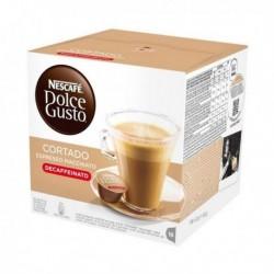 capsules de café avec étui nescafé dolce gusto 94314 espresso macchiato decaffeinato 16 pièces