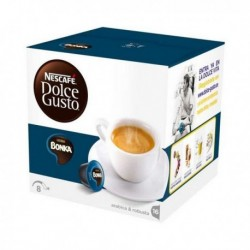 capsules de café avec étui nescafé dolce gusto 13758 espresso bonka 16 pièces