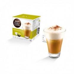Capsules de café avec étui Nescafé Dolce Gusto 98492 Cappuccino (48 pièces)