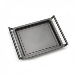 plancha à griller lisse bra a271535 35cm noir