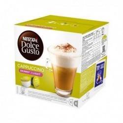 Capsules de café avec étui Nescafé Dolce Gusto 87377 Cappuccino Light (16 pièces)