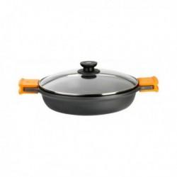 casserole avec couvercle bra a270528 28cm