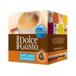 Capsules de café avec étui Nescafé Dolce Gusto 94331 Caffè Lungo Decaffeinato (16 pièces)