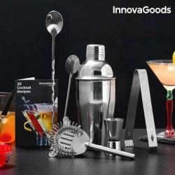 ensemble à cocktail avec livre de recettes innovagoods 6 pièces