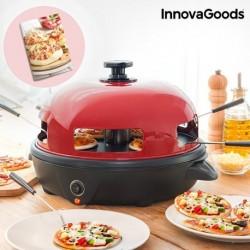 four pour mini pizzas avec livre de recettes presto innovagoods élégant sur une table