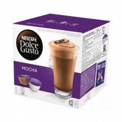 Capsules de café avec étui Nescafé Dolce Gusto 49523 Mocha (16 pièces)