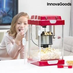 machine à pop corn tasty pop times innovagoods rouge parfait pour vos enfants