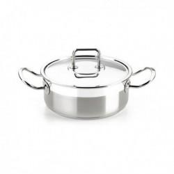 casserole avec couvercle bra a340355 24cm
