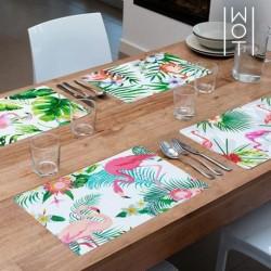 dessous de plats flamenco tropical wagon trend élégants sur votre table